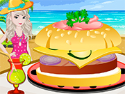 Play Elsa Summer Chicken Burger