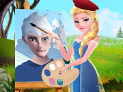 Play Elsa The Painter