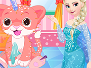 Play Elsa Tiger Care