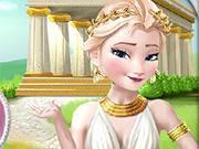 Play Elsa Time Travel: Ancient Greece