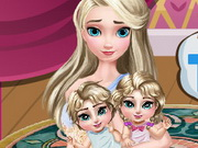 Play Elsa Twins Care