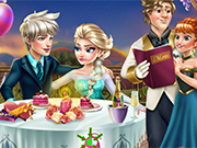 Play Elsa Valentine's Day Kiss