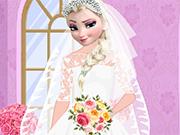 エルザ結婚式の日