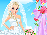 Play Elsa Wedding Salon