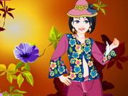 Play Emily Flower Girl Dressup