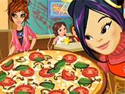 Play Emily's Diary: Pizza! First job