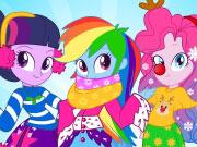 Play Equestria Girls Winter Fashion