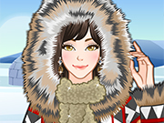 Eskimo Girl Makeup