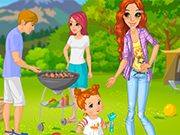 Play Family BBQ Dressup