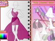 ファッションスタジオ - ウェディングドレスのデザイン
