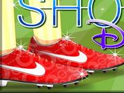 FIFAファン靴の装飾