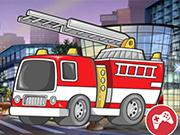 Fire Truck Crazy Race