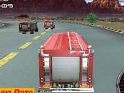 消防車レーサー3D