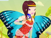 Play Flying Beauty Dress Up