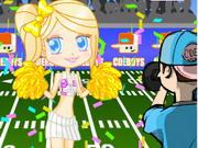 Play Football Cheerleader