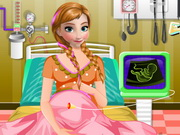 Play Fozen Anna Emergency Birth