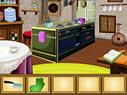 Play French Kitchen Room Escape