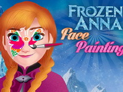 Play Frozen Anna Face Painting