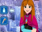 Play Frozen Anna Waterfall Braids