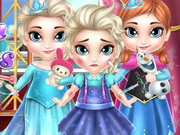 Play Frozen Babies Doctor
