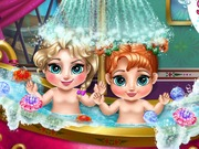 Play Frozen Baby Bath