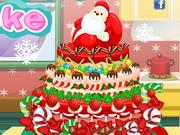 Play Frozen Christmas Cake