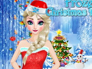Play Frozen Christmas Design