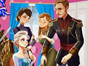 Play Frozen Family Castle Decor