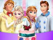 冷凍ファミリークッキングウェディングケーキ