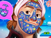 Play Frozen Kristoff Christmas Makeover
