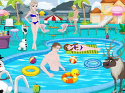 Play Frozen Pool Party Decoration