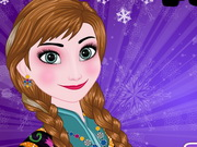Play Frozen Princess Anna Perfect Makeover