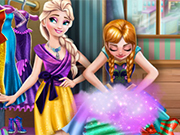 Play Frozen Wardrobe Cleaning