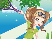 ファンキーテニスガール