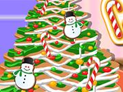 ジンジャーブレッドクッキーのクリスマスツリー