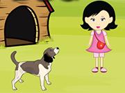 空腹の犬からガールエスケープ
