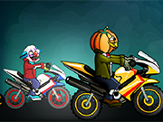 Play Halloween Bike Racing