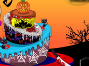 Play Halloween Birthday Cake