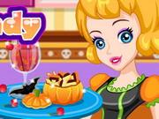 Play Halloween Corn Candy Cookies