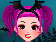 Play Halloween Girl Dressup