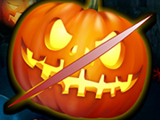 Play Halloween Pumpkin Slice