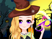 Play Happy Halloween Girl