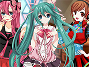Play Hatsune Miku Christmas Dress Up