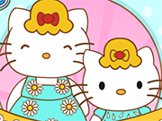 Play Hello Kitty And Mom Matching Outfits