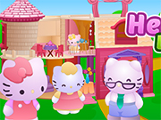 Play Hello Kitty Doll House Fix