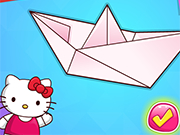 Play Hello Kitty Origami Class