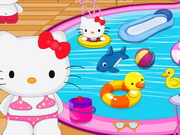 Play Hello Kitty Swimming Pool Decor