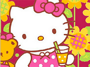 Play Hello Kitty With Teddy Bear