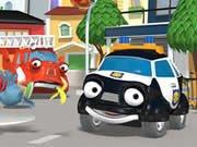 市の車のキーの英雄