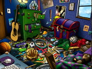 Play Hidden Objects Messy Rooms